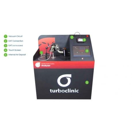 Variable Nozzle Turbocharger Analyser