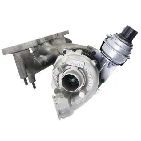 Remanufactured Turbocharger 757042 Garrett GT1749VC (GTB1749MV) + gaskets